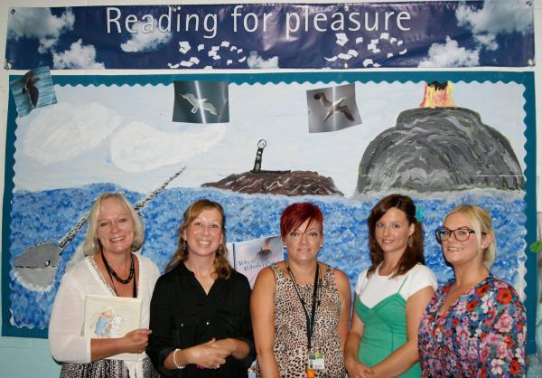 The literacy team at Cantell School