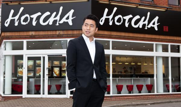 Hotcha founder James Liang, who created the UK's first national Chinese takeaway brand
