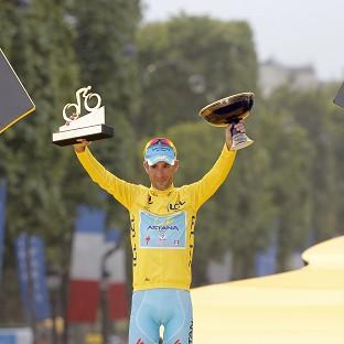 Vincenzo Nibali will now target the rainbow jersey following his Tour de France triumph (AP)