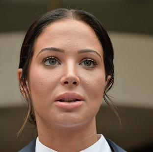Tulisa Contostavlos told how she suffered a