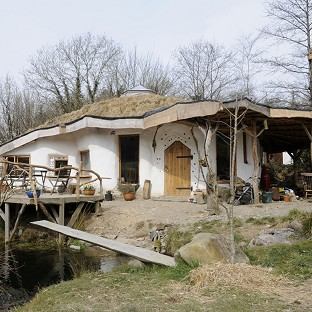 The environmentally-friendly Hobbit-style house faces being knocked down