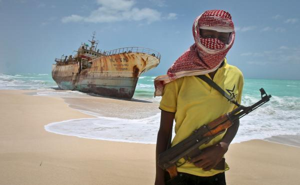 GoAGT escorted ships through some of the world's most dangerous seas, including off the coast of Somalia, pict
