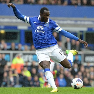 Romelu Lukaku signed a five-year contract with the Toffees on Wednesday night