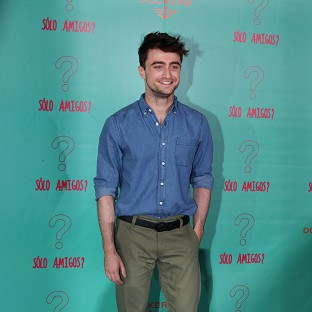 Daniel Radcliffe was in Mexico City to promote his new film, What If