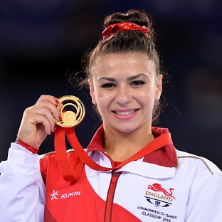 Claudia Fragapane claimed her fourth gold of the Games by winning the women's floor final