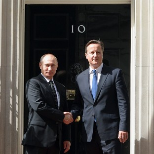 Prime Minister David Cameron says Nato must seek to address its relationship with Russia