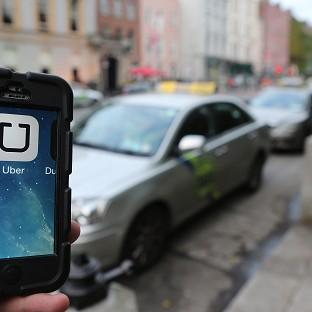 The Uber mobile phone app for hailing cabs has come