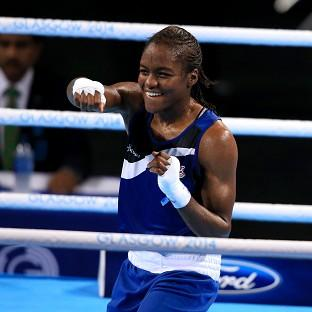 Nicola Adams, pictured, defeated Michaela Walsh to claim gold