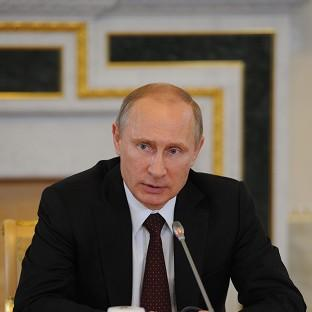 Vladimir Putin has been urged to