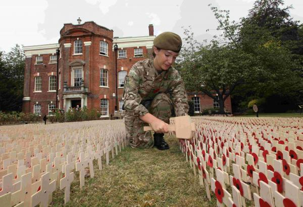Fallen Hampshire soldiers remembered at special Winchester service