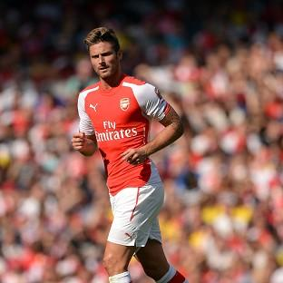 Olivier Giroud admitted he struggled for fitness in Arsenal's 1-0 Emirates Cup defeat to Monaco on Sunday