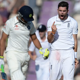 Animosity between James Anderson, right, and Ravindra Jadeja has dominated England and India's Test series