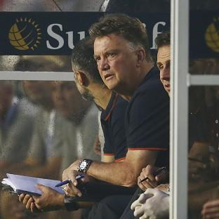 Louis van Gaal has been impressed by what he has seen from Manchester United so far (AP)