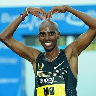 Mo Farah, pictured, will take on Stephen Kiprotich, the reigning world and Olympic marathon champion, on Tyneside
