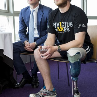 Harry hails Invictus Games team