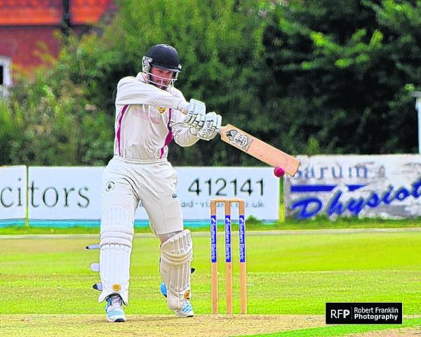 Ryan Burl hit 42 in his final knock for South Wilts