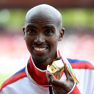 Mo Farah won 5,000m gold to complete a double success in Zurich