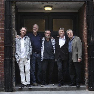 Eric Idle, John Cleese, Terry Gilliam, Michael Palin and Terry Jones a