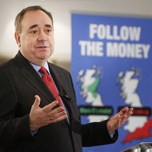Alex Salmond said an independent Scotland would be one of the world's wealthiest countries
