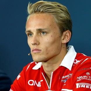 Max Chilton is out of Sunday's Belgian Grand Prix at Spa-Francorchamps