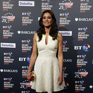 Melanie Sykes' caution has been withdrawn