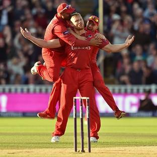 Andrew Flintoff admitted he got caught up in the heat of the moment at the NatWest T20 Blast Finals Day