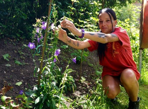 Emmaus companion Kelly Spinelli was homeless but now hopes to launch a gardening business