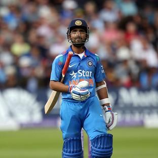 India's Ajinkya Rahane was dismissed for 45, but his innings has h