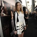 Hampshire Chronicle: Leighton Meester at the premiere of The Judge in Los Angeles
