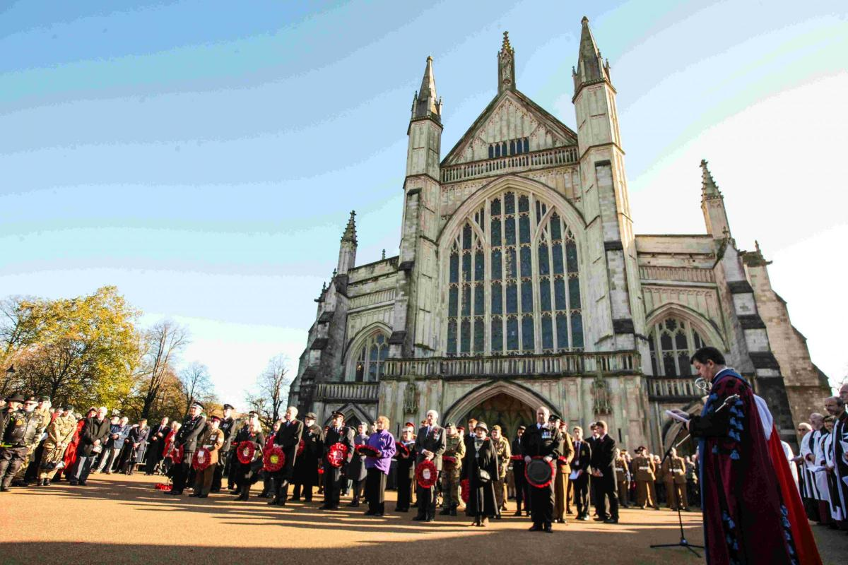 Remembrance Sunday Winchester