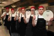South Downs trainee chefs show off their prizes at Lainstone House