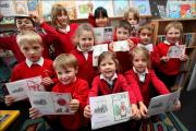 All Saints pupils show off their winning Christmas card designs