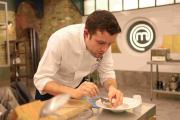Sven-Hanson Britt will be in the final of MasterChef: The Professionals tomorrow.