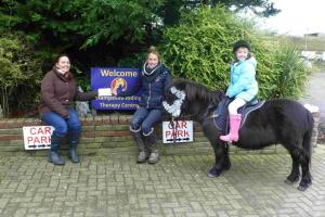 Charity donates £250 to disabled riding centre