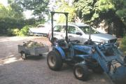 The blue Iseki 2160 tractor (pictured above) was taken from a property in Main Road.
