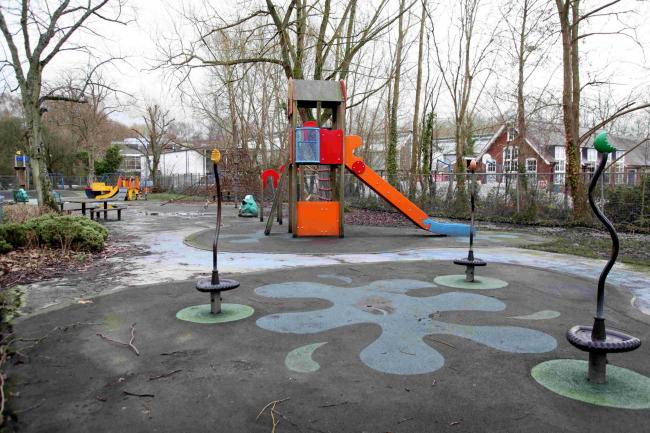 North Walls playground is one of nine to be refurbished by 2020