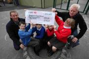 Shepherds Down School was given £450 by a team of runners.