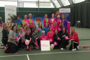 Tennis star's mother trains women at Winchester sports club