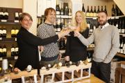 Staff at Wine Utopia say cheers to their new website