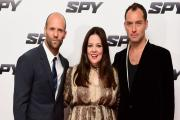 Jude Law says he's 'more Johnny English than 007' at Spy premiere