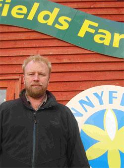 Looking forward to the show: Ian Nelson, of Sunnyfields Farm.