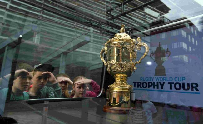 The Web Ellis Cup (Hannah McKay/PA Wire)