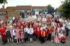 Children, parents and councillors are campaigning to bring back Weeke's lollipop service