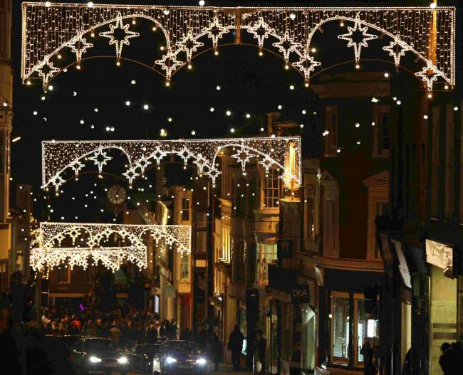 Christmas Lights to be switched on in Winchester - Christmas Lights To Be Switched On In Winchester Hampshire Chronicle