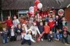 500 people got into the spirit at St Bede's Christmas fair
