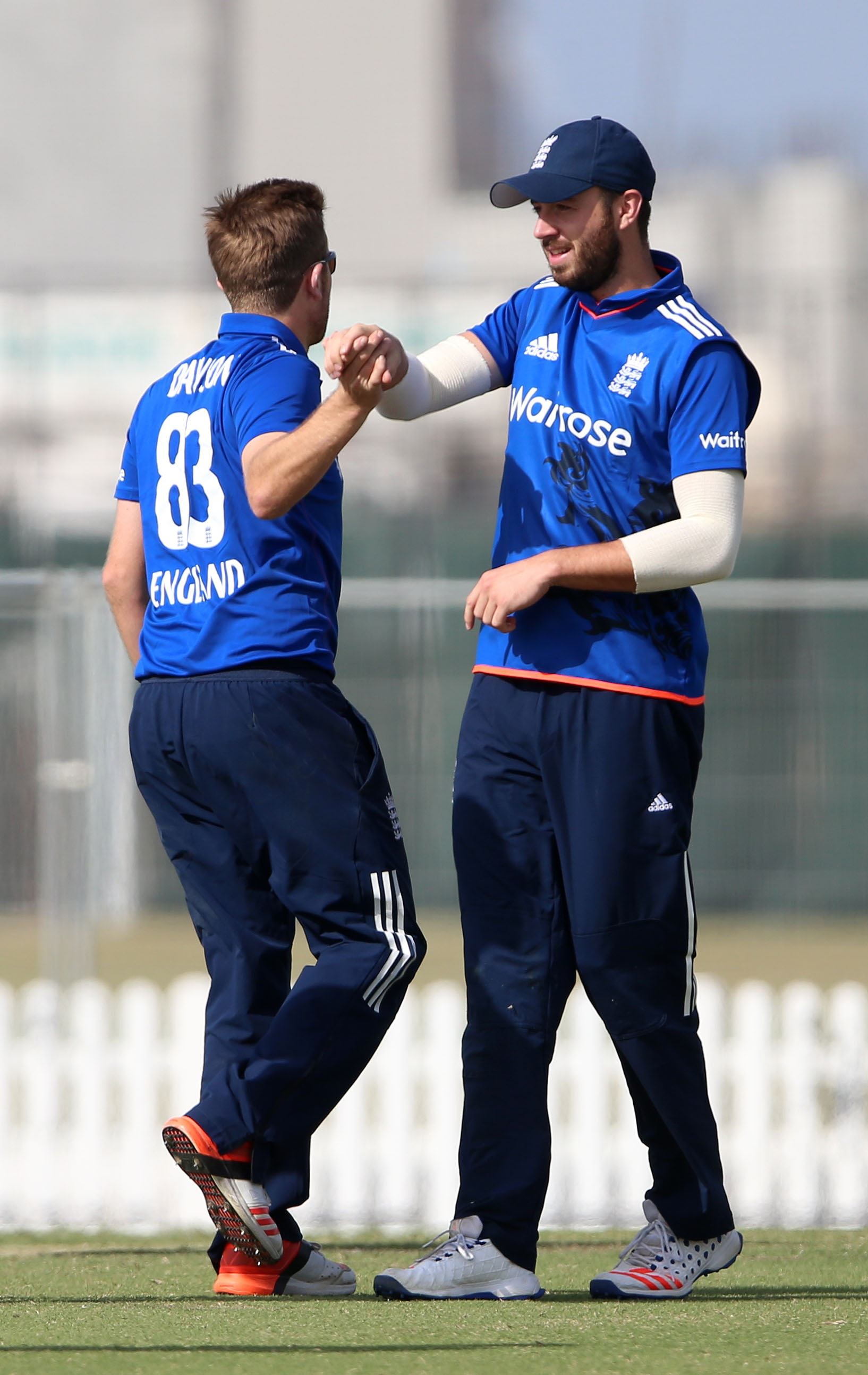CRICKET: Dawson and Vince impress in England win