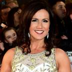 Hampshire Chronicle: Susanna Reid and Holly Willoughby go Grecian in stunning white dresses for the NTAs