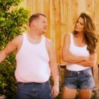 Hampshire Chronicle: Video: Cindy Crawford and James Corden have hilariously remade a famous advert