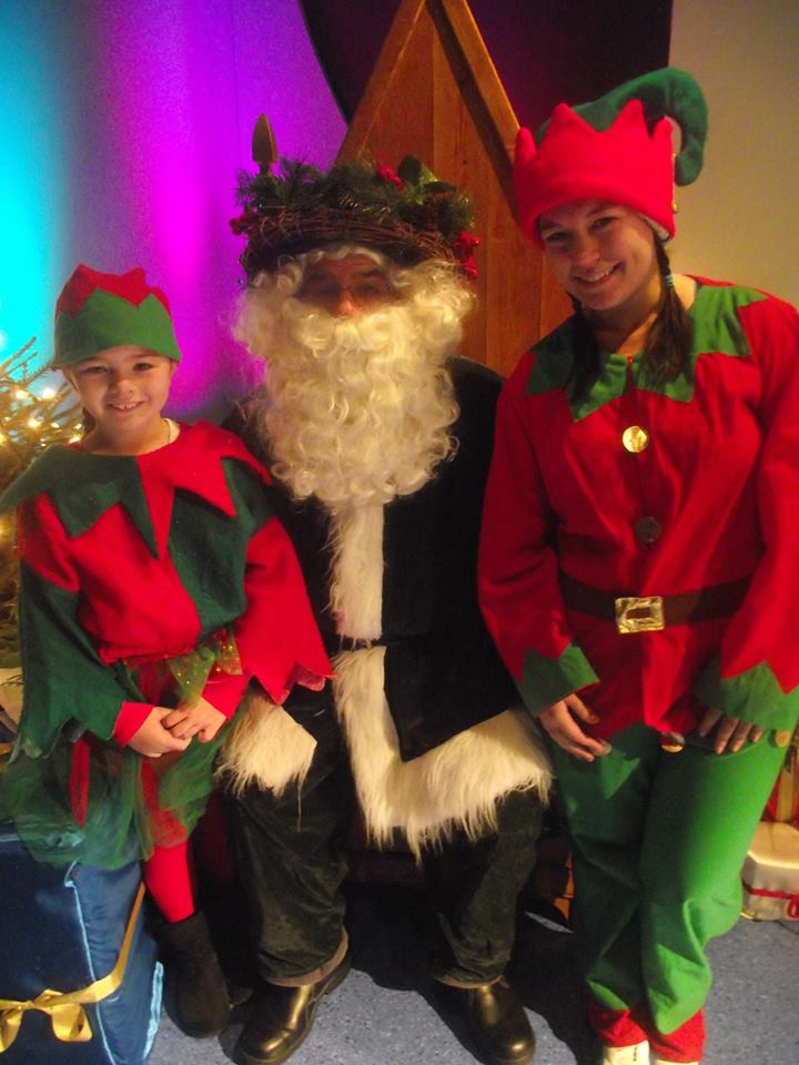 Meet Santa and the cast of Snow White,