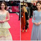 Hampshire Chronicle: Emilia Clarke and Jenna Coleman turn on the glamour for the London premiere of Me Before You